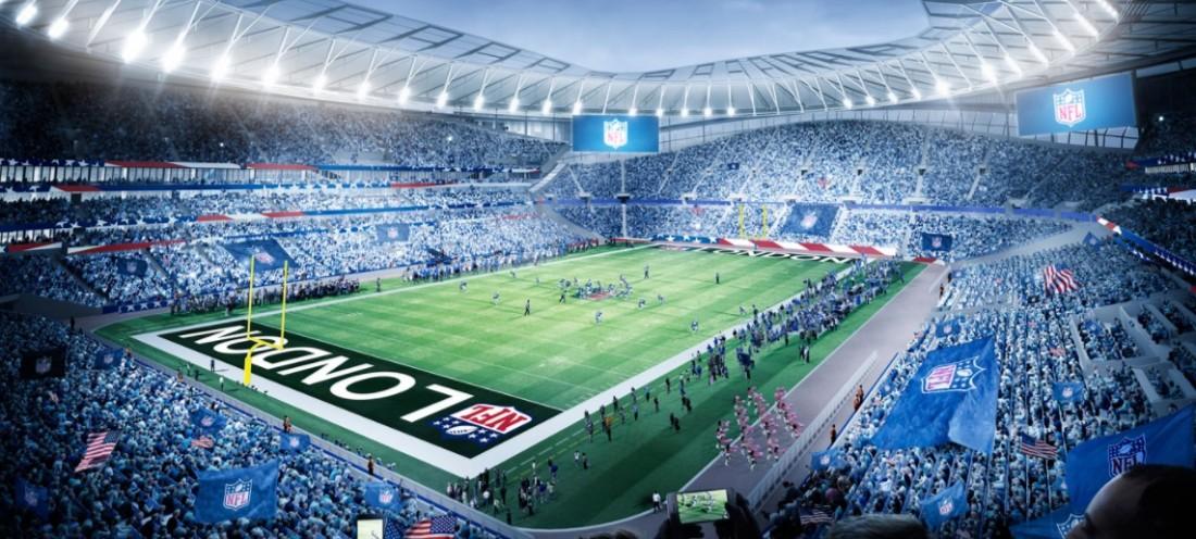 Com Wembley e nova casa do Tottenham, NFL anuncia partidas em Londres
