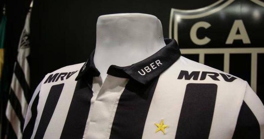 Uber renova com Atlético/MG e terá exposição na gola da camisa