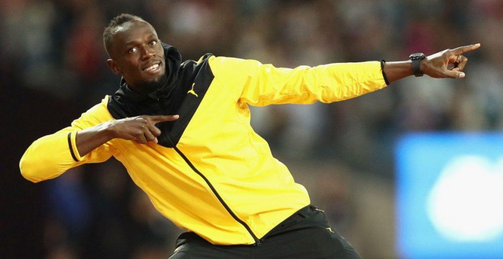 Usain Bolt fecha com time da Unicef para amistoso de caridade no Old Trafford