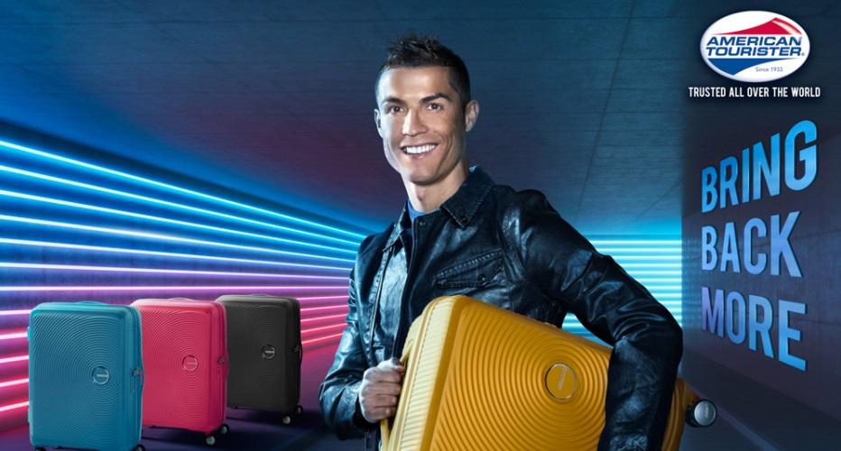 Cristiano Ronaldo é o novo embaixador global da American Tourister