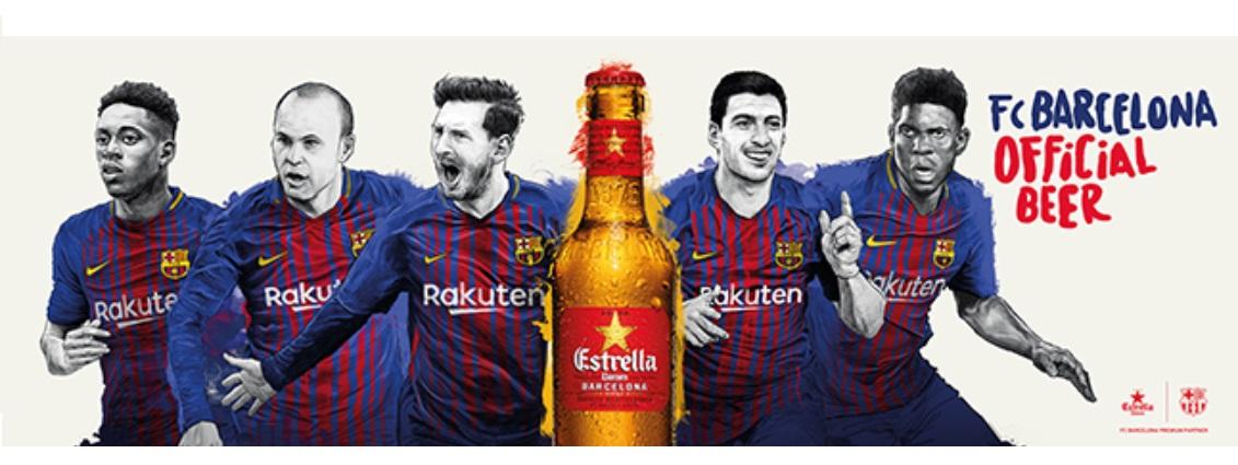 FC Barcelona anuncia renovação com a Beko e Estrella Damm