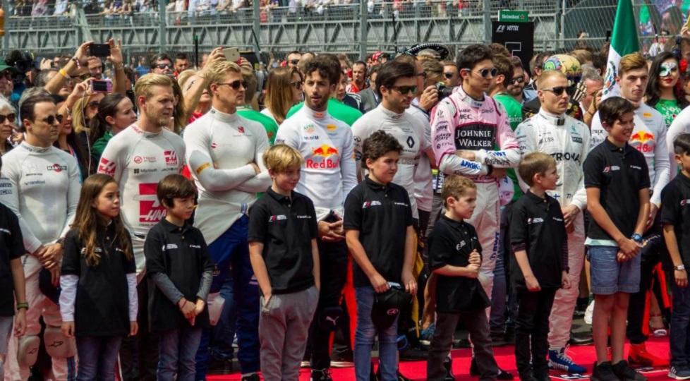 Após excluir grid girls, Fórmula 1 colocará crianças no grid de largada