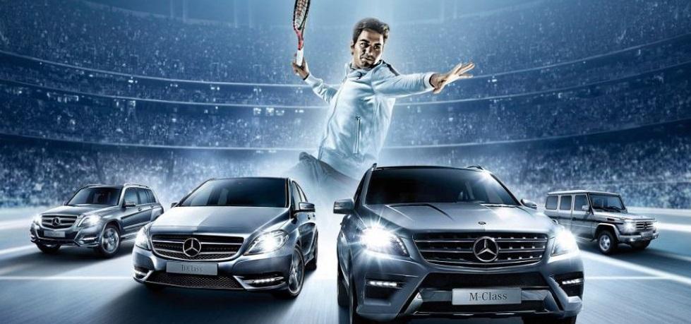 Mercedes-Benz e Roger Federer renovam acordo de patrocínio