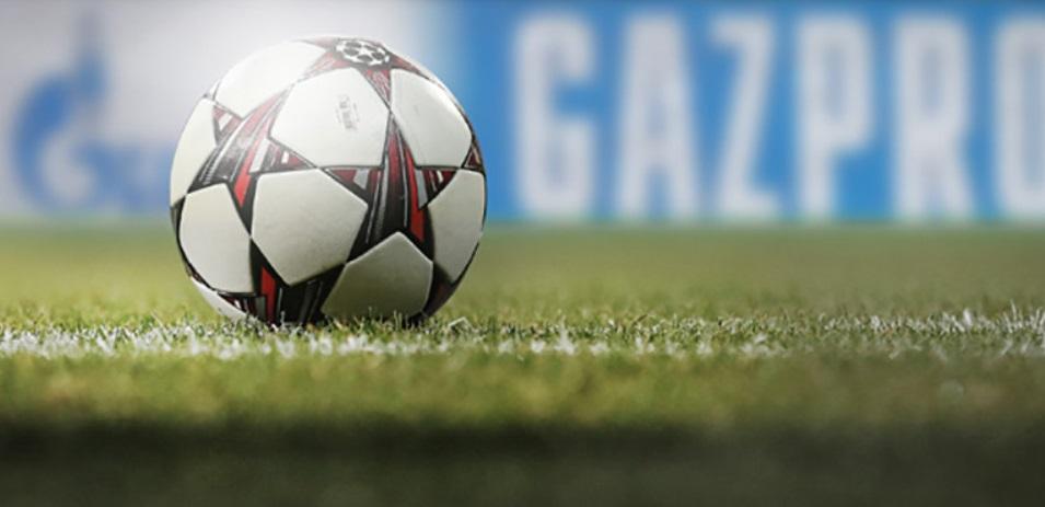 Gazprom renova patrocínio e seguirá na Champions League até 2021