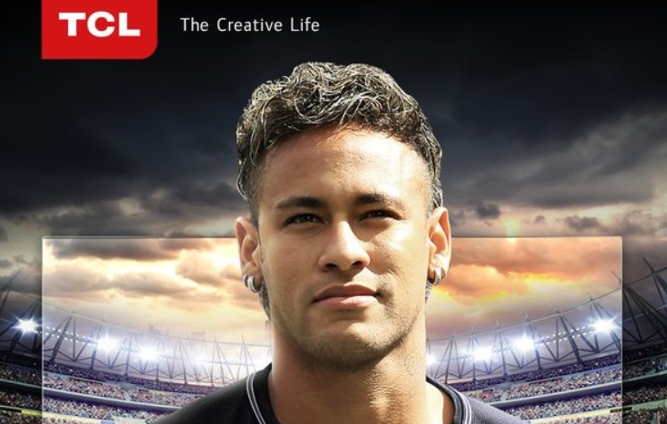 Neymar é o novo embaixador global da chinesa TCL