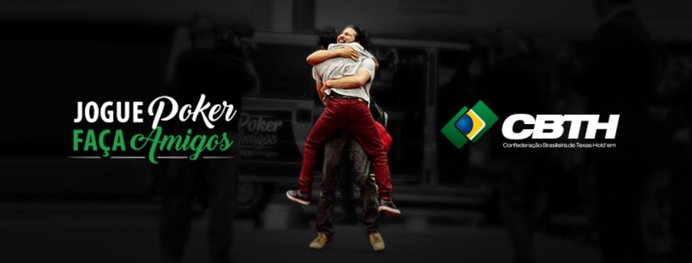 #JoguePokerFaçaAmigos | Confederação brasileira de Poker lança campanha digital