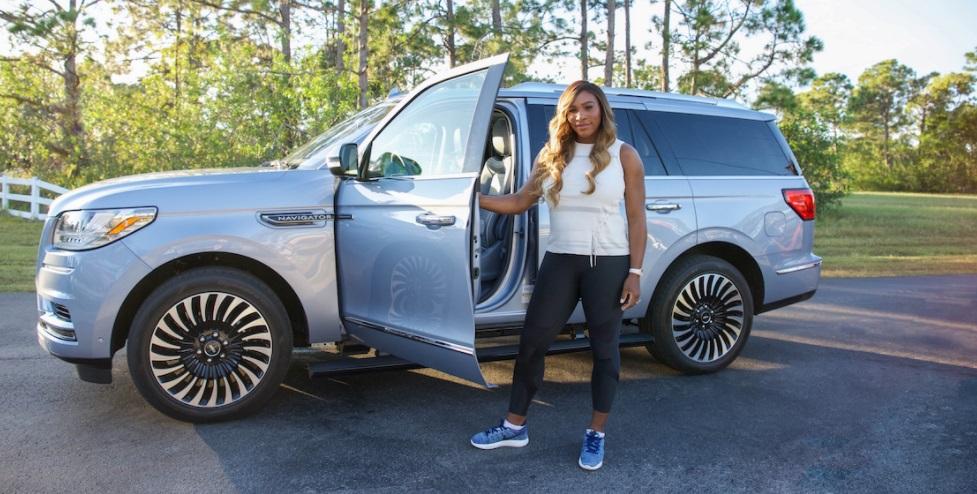 Serena Williams é a nova embaixadora da Lincoln