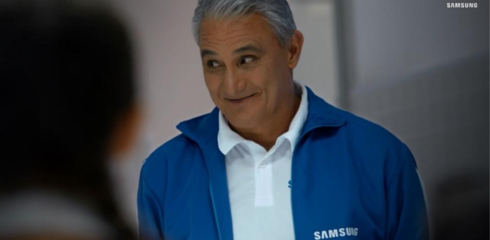 Com Tite, Samsung surpreende crianças que nunca são escolhidas para jogar