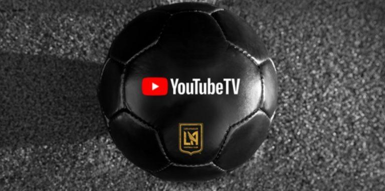 Los Angeles FC anuncia YouTube TV como seu novo patrocinador de camisa