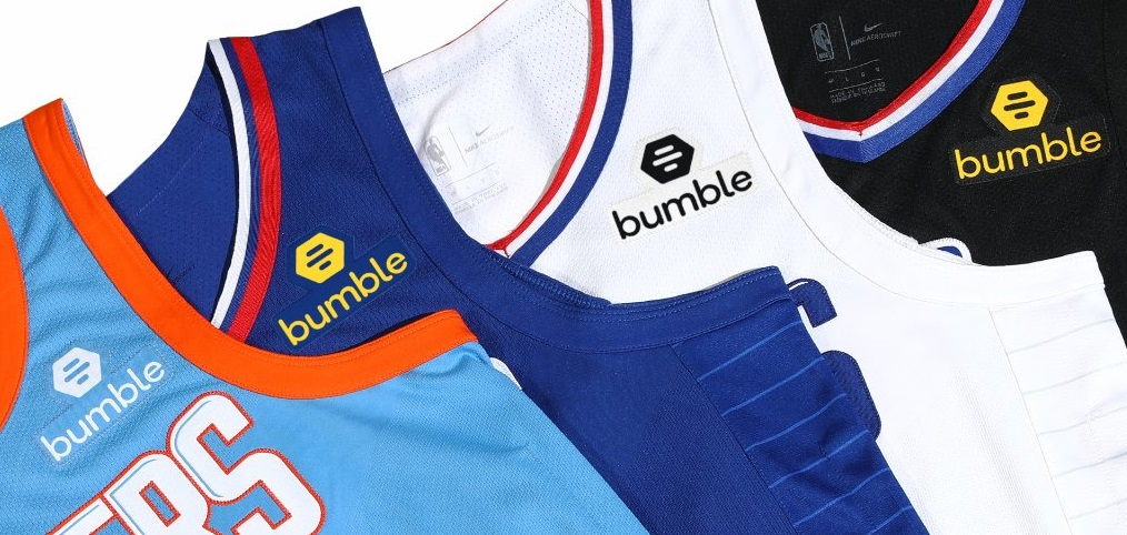 Aplicativo de paquera é o novo patrocinador de camisa do Los Angeles Clippers