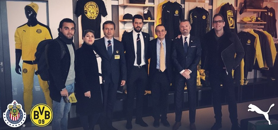 Patrocinados pela PUMA, Borussia Dortmund e Chivas firmam parceria
