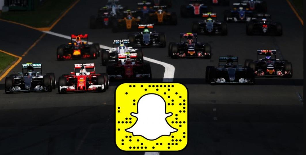 F1 e Snapchat renovam parceria de conteúdo por mais duas temporadas