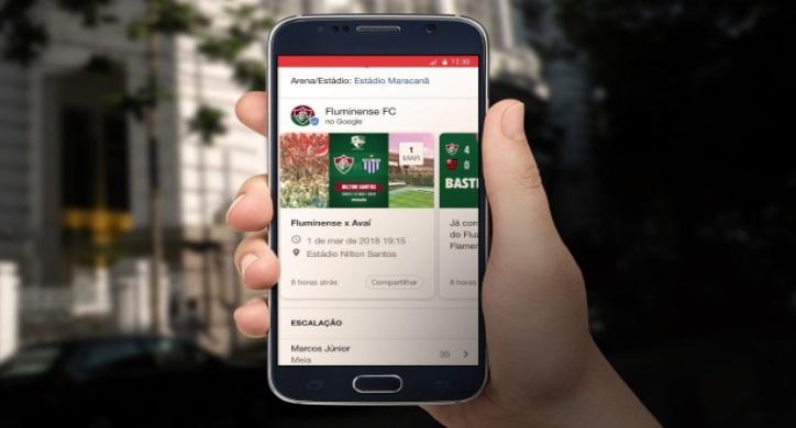 Por engajamento e visibilidade, Fluminense fecha parceria com Google