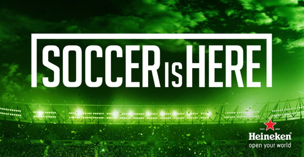 Heineken renova patrocínio à Major League Soccer por mais cinco temporadas