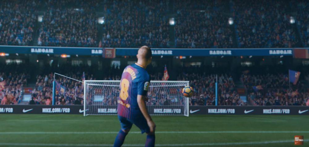 Nike celebra os 20 anos do seu patrocínio ao FC Barcelona