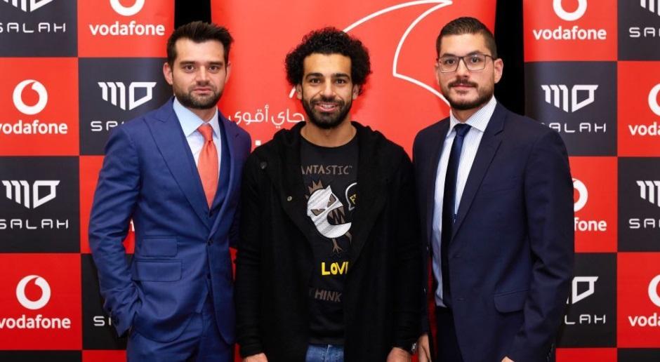 Vodafone dará 11 minutos de ligações grátis por cada gol de Mohamed Salah