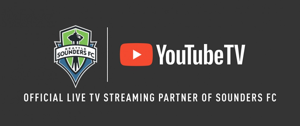 YouTube Tv fecha com Seattle Sounders e amplia oferta na MLS