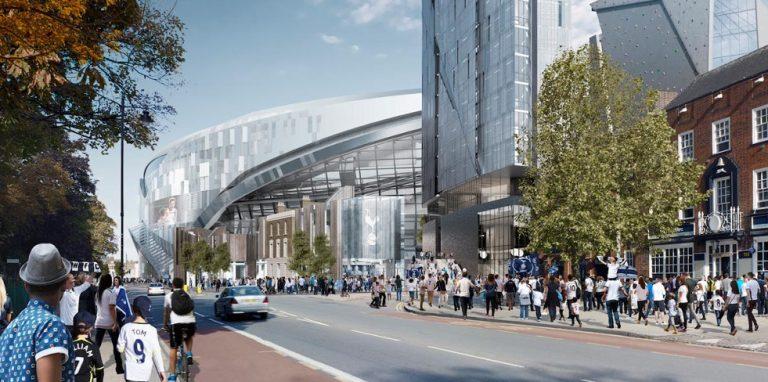 Tottenham gera revolta ao anunciar preços dos ingressos para o seu novo estádio