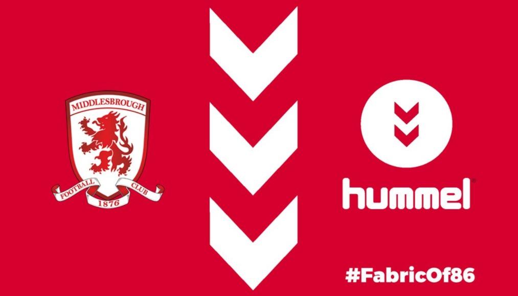 Hummel é a nova fornecedora de material esportivo do Middlesbrough FC