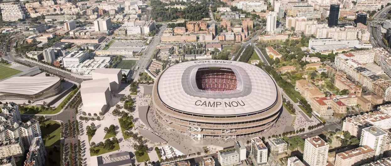 Conselho da cidade aprova e Camp Nou se aproxima de ampliação
