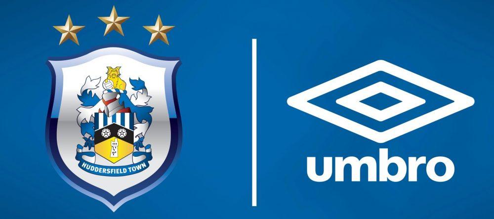 Umbro amplia presença no futebol inglês e fecha com Huddersfield Town