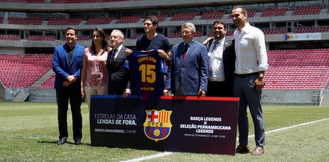 Topper patrocinará amistoso entre Seleção Pernambucana e Barça Legends