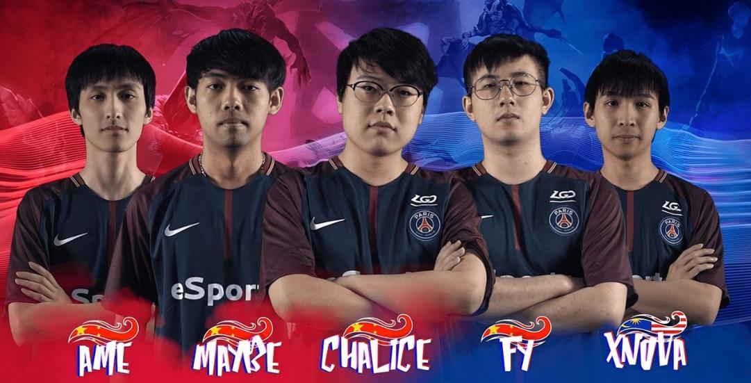 Em parceria com LGD Gaming, PSG terá equipe chinesa de Dota 2