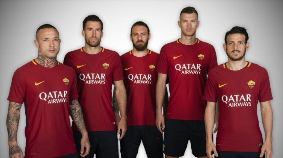 Qatar Airways é a nova patrocinadora máster da AS Roma