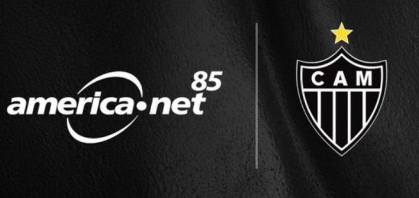 America Net é a nova patrocinadora do Atlético-MG