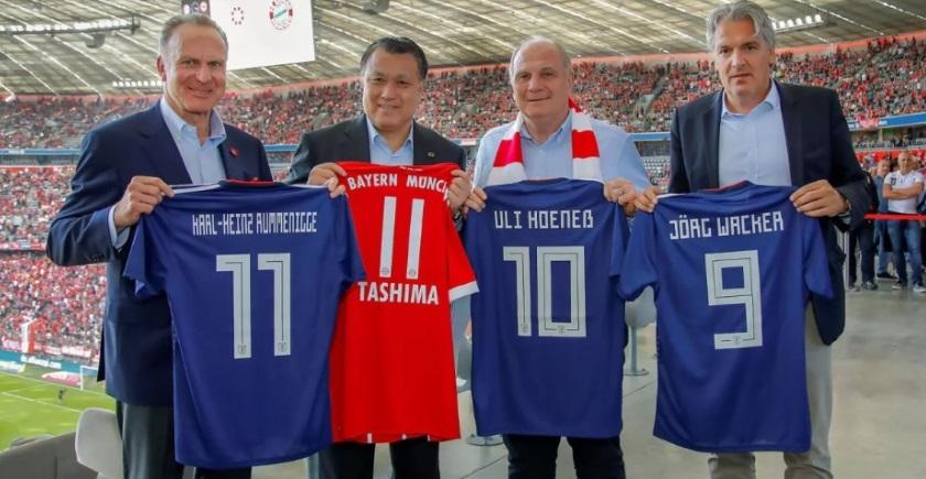 Bayern de Munique oficializa parceria com Associação Japonesa de Futebol