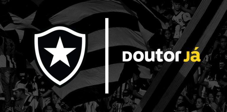 Doutor Já é a nova patrocinadora das plataformas digitais do Botafogo