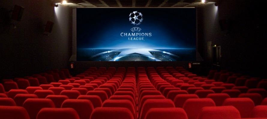 Globo leva decisão da Champions League para os cinemas