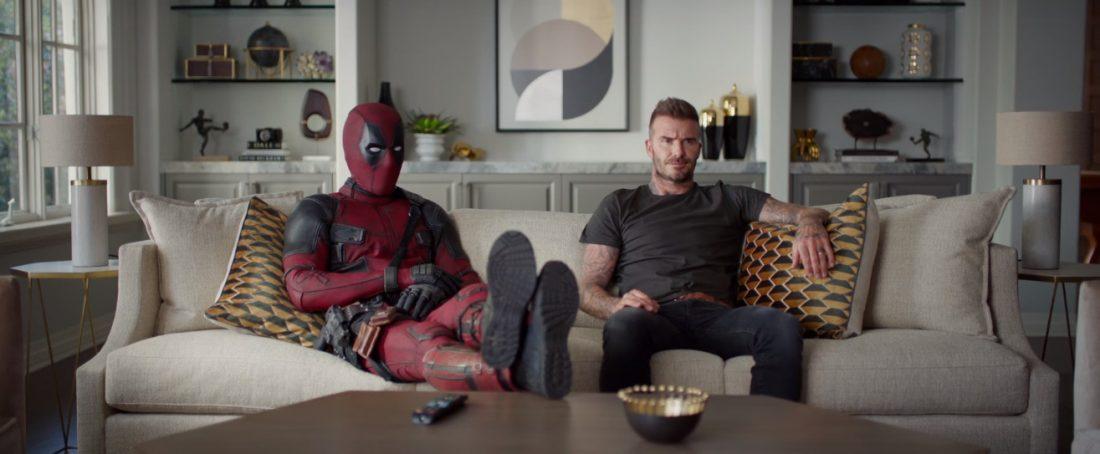 Deadpool pede desculpas a David Beckham por piada no primeiro filme