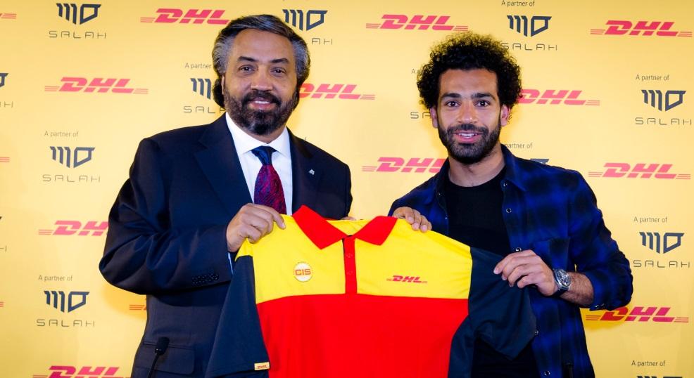 Mohamed Salah é o novo embaixador da DHL