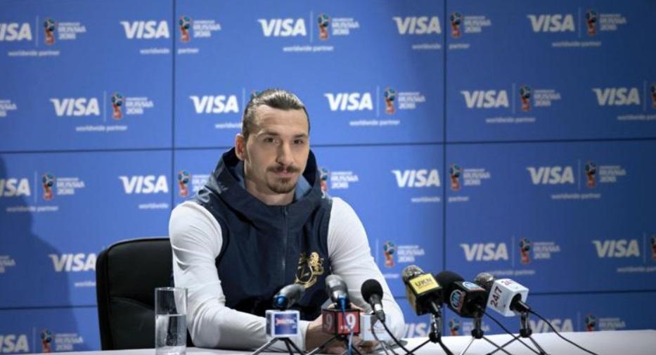 Com Ibrahimović, Visa utilizará Copa para aprimorar experiência dos fãs nos jogos