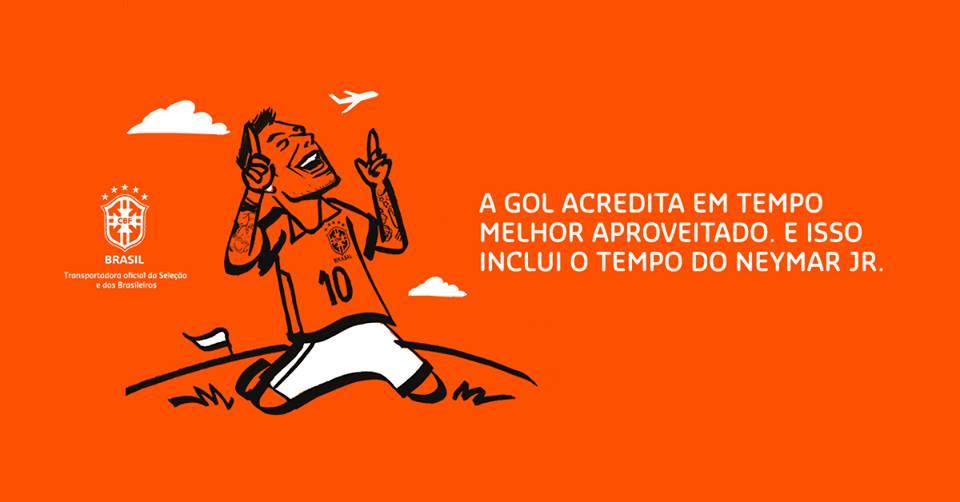 """Com mais de 50 mil inscritos, Gol comemora campanha de """"espiões"""" para Neymar"""
