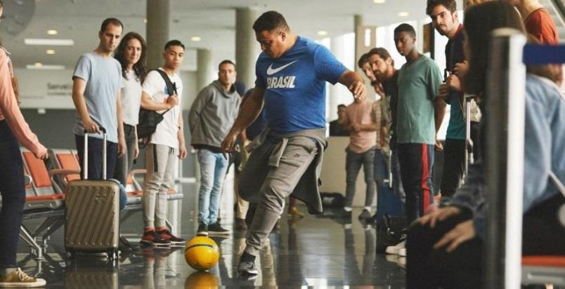 Com Ronaldo, Nike terá remake de comercial da Seleção no aeroporto