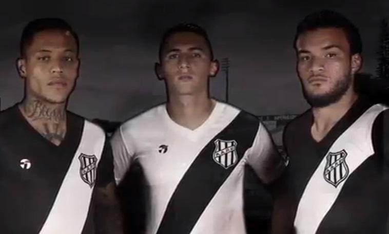 Topper é a nova fornecedora de material esportivo da Ponte Preta