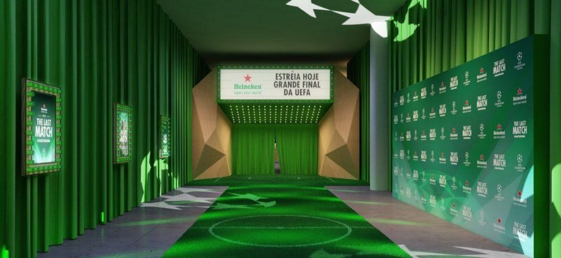 Com 'The Grand Finale', Heineken ativa final da Champions League em São Paulo