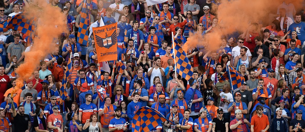 Major League Soccer anuncia chegada do FC Cincinnati para 2019