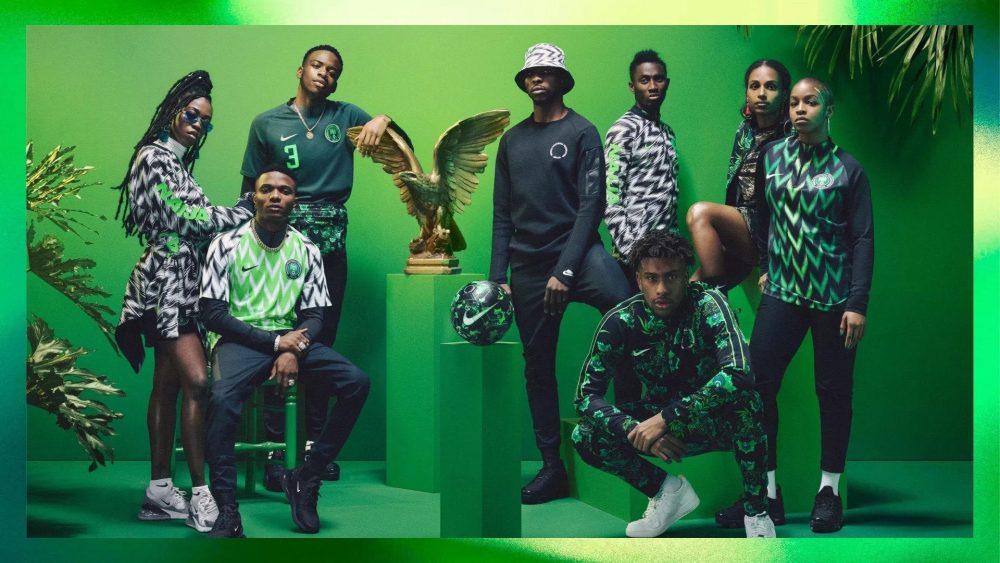 Sucesso absoluto, Nigéria apresenta linha casual para a Copa do Mundo 2018