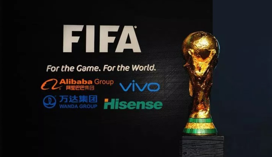 Marcas chinesas investiram US$ 835 milhões em patrocínio na Copa do Mundo