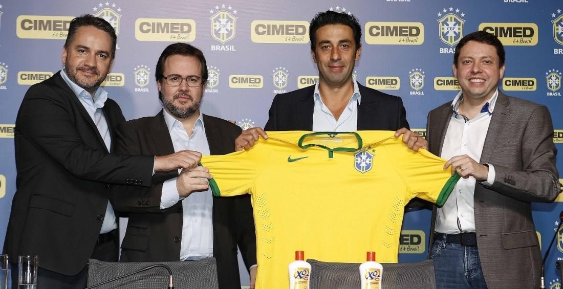 """Cimed """"esquece"""" Copa do Mundo e antecipa renovação com a CBF"""