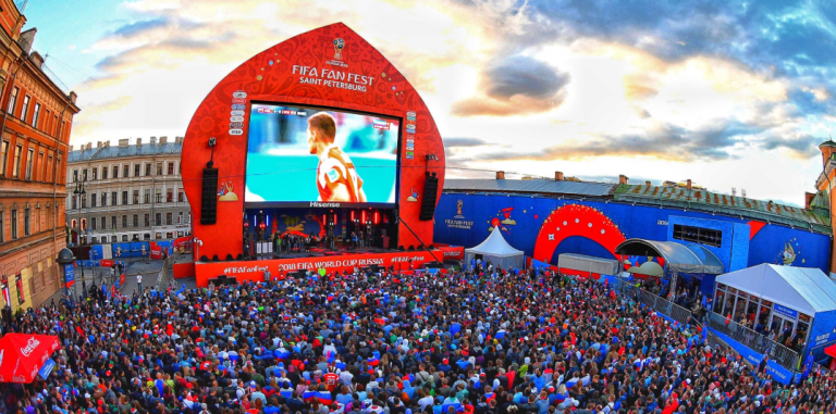 Com 2.5 milhões de visitantes, FIFA comemora sucesso das Fan Fests na Rússia