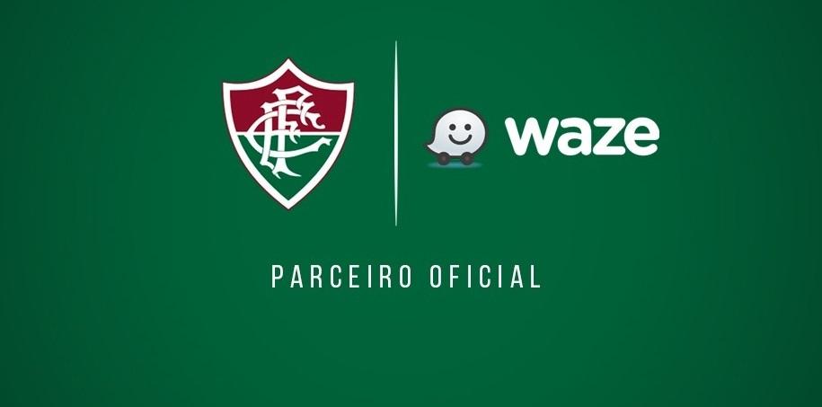 Fluminense anuncia parceria global com o Waze