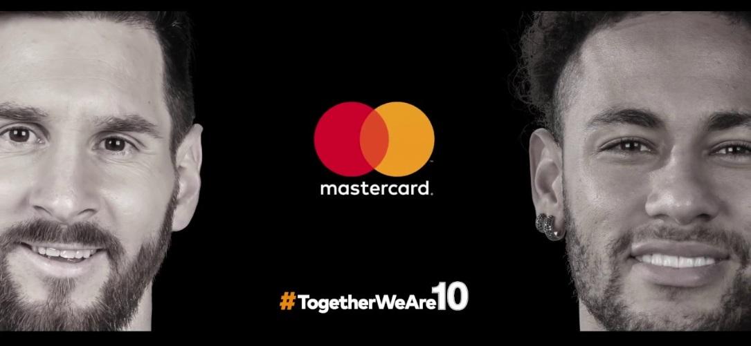 Após crítica de Tite, Mastercard muda campanha com Neymar e Lionel Messi