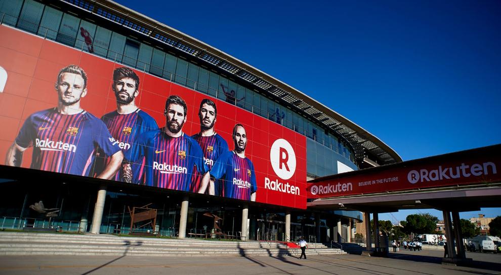 Rakuten se aproxima de fechar naming rights do Camp Nou