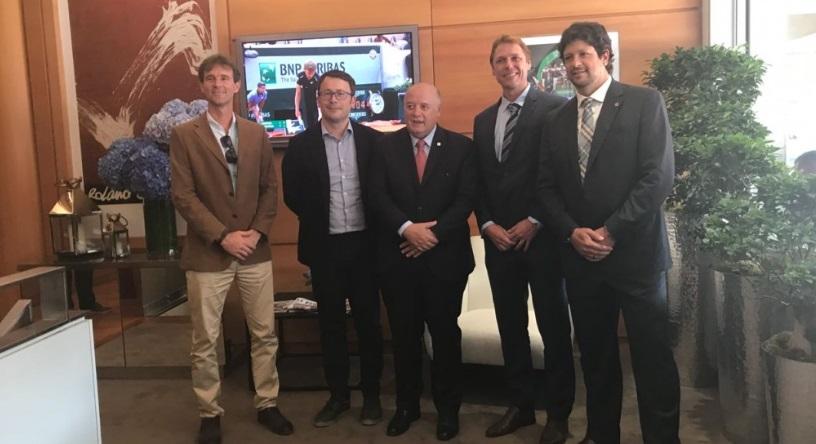 Minas Tênis Clube oficializa parceria com Roland Garros