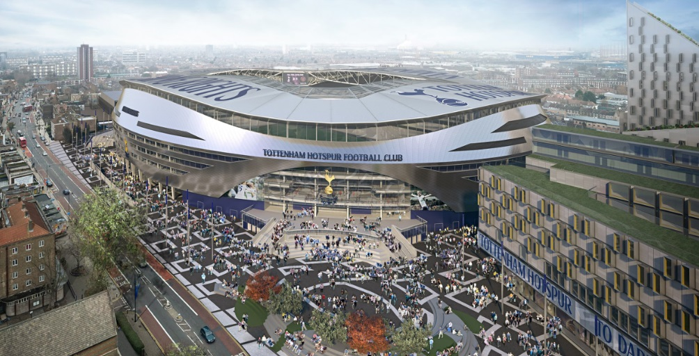 Pioneiro na Inglaterra, Tottenham terá microcervejaria artesanal no seu novo estádio