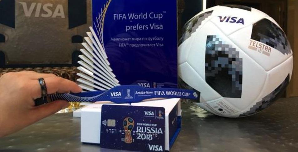 Com anel e pulseiras como pagamento, Visa detalha consumo do torcedor na Copa